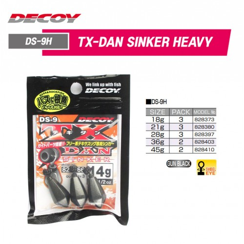 Decoy DS 9 TX Heavy Dan Sinker