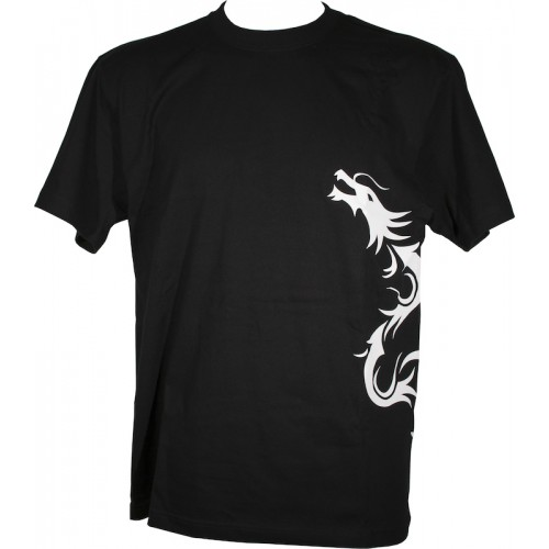Tenryu T Shirt Noir Dragon