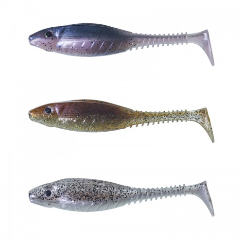 Gunki Grubby Shad 10.5 Clear Water Kit