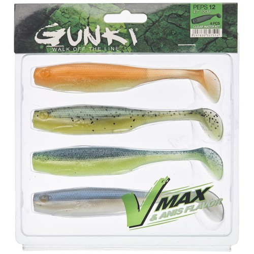 Gunki Peps 7 Clear Water Kit 2 Pack