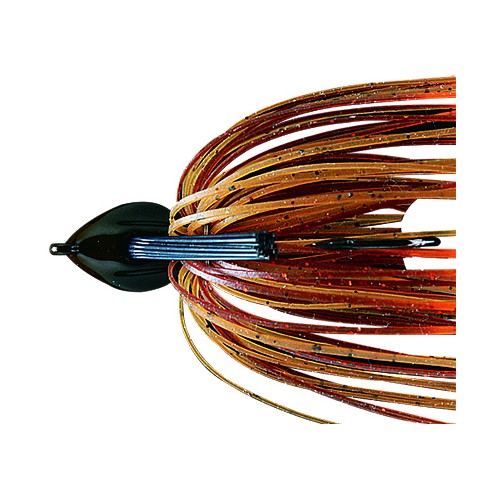 Deps Flat Back Jig 25 Orange Edge