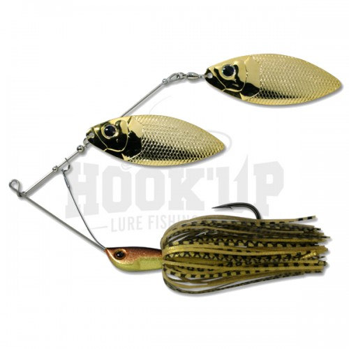 Deps Huge Spinnerbait 01 Black Gold