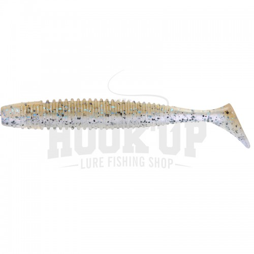 "OSP HP Shad Tail 3.6"" TW117 Ghost Shrimp"