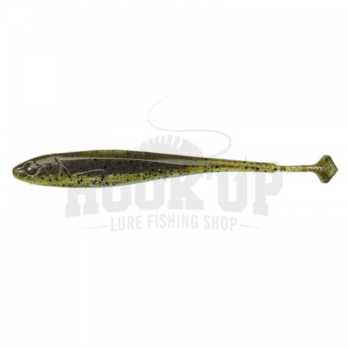"Illex Magic Finess Shad 3"" Green Pumpkin"
