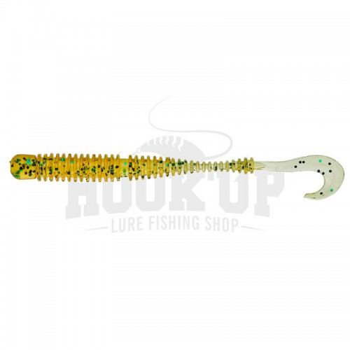 "Illex Ring Worm 3"" Gold Pumpkin"