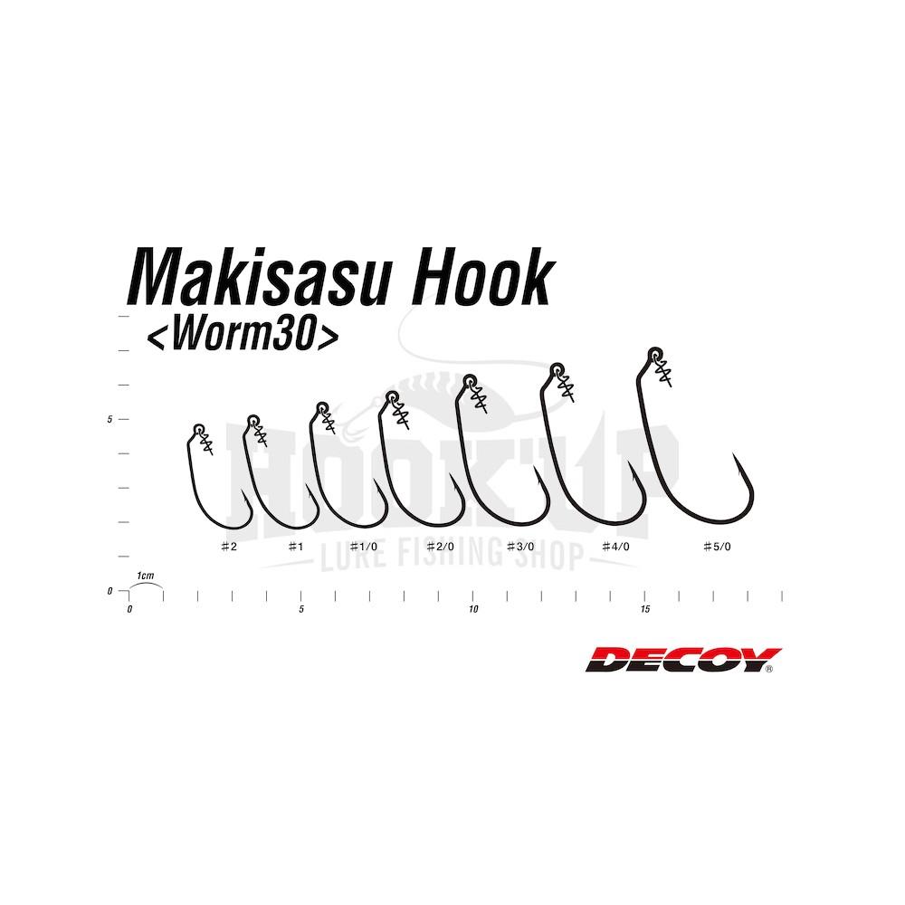 Decoy Worm 30 Makisasu Hook