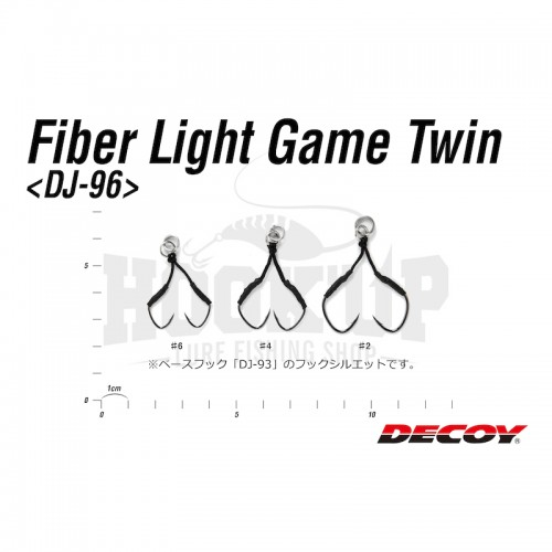 Decoy DJ 96 Fiber Light Game Twin 2