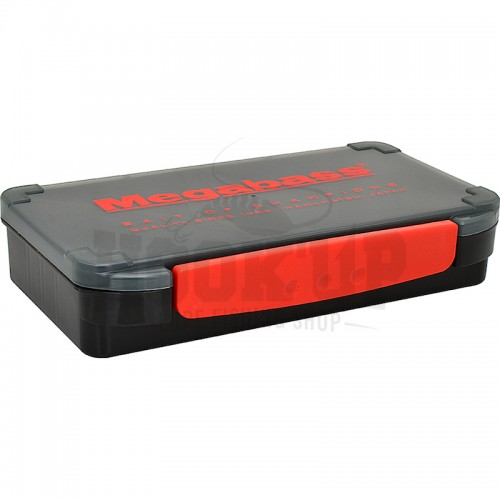 Megabass Lunker Lunch Box Slim (Black/Red)