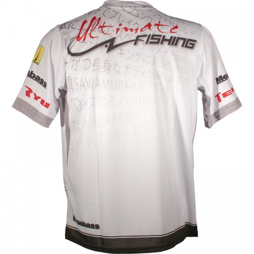 Ultimate Fishing T Shirt Competition Blanc Back