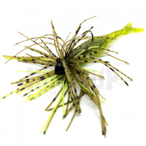 Duo Realis Small Rubber Jig J026 Green Pumpkin Chart