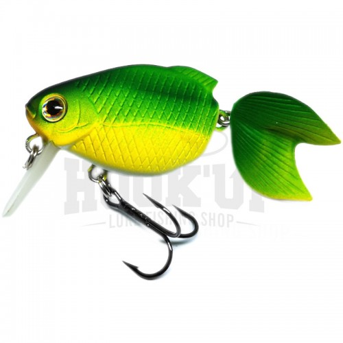 Lucky Craft Kingyo Koaka 40 F NC Powered Green