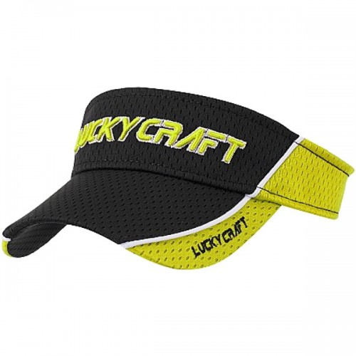 Lucky Craft Sun Visor LC Racing Cool Max Lemon Yellow
