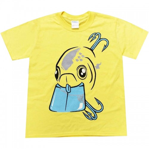 Lucky Craft RTO Crank T Shirt Yellow Kids S