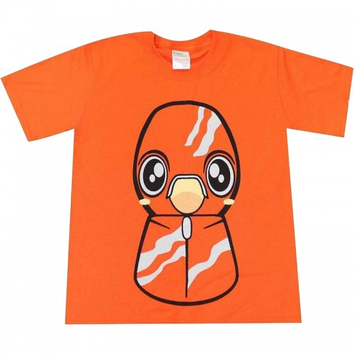 Lucky Craft Pointer T Shirt Orange Kids S