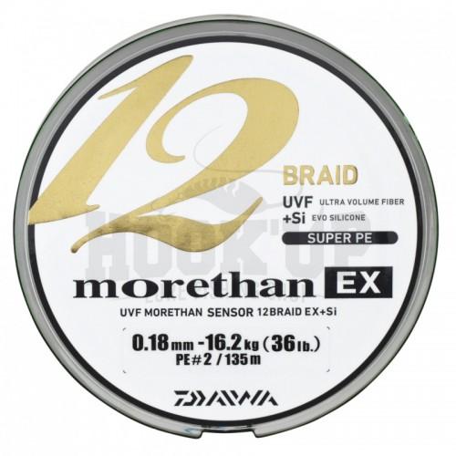 Daiwa Morethan 12 Braid EX Tresse - 135M