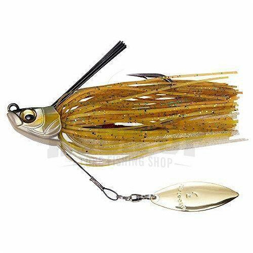 Megabass Uoze Swimmer 1/4oz - 7g Golden Shiner