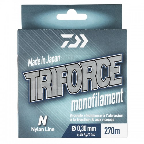 Daiwa TriForce Nylon Gris - 270M