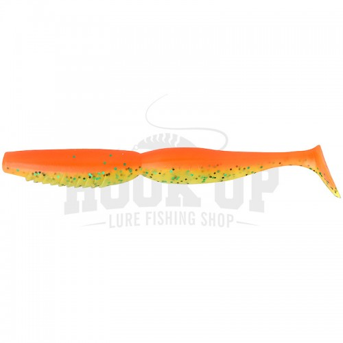 Megabass Spindle Worm 5 SUPER Orange Chart