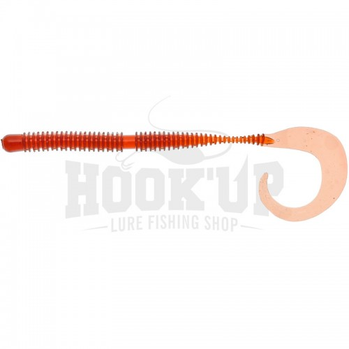 "Illex Ring Curly Worm 6"" Cola"