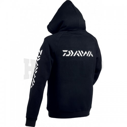 Daiwa Sweat Shirt Capuche Noir