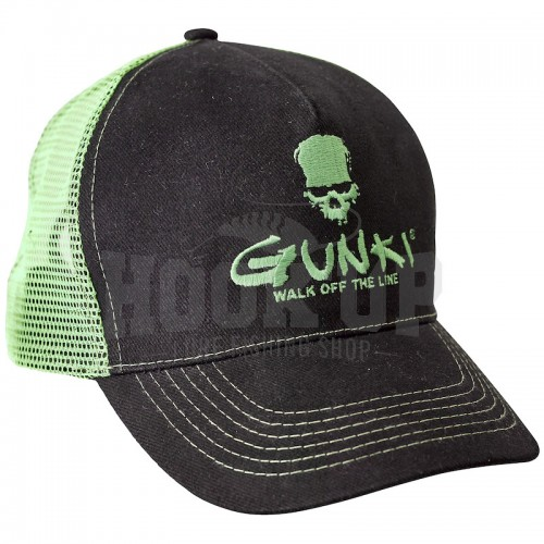 Gunki Black Trucker Hat