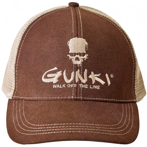 Gunki Casquette Trucker Brown