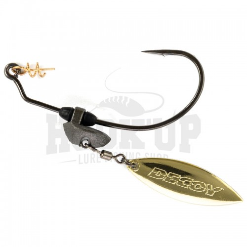 Decoy Worm 230 Makisasu Blade Gold