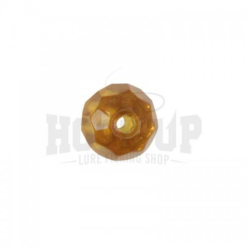 Scratch Tackle Perle en Verre Ambre