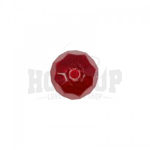 Scratch Tackle Perle en Verre Rouge