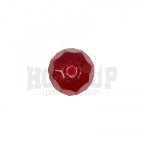 Scratch Tackle Red Glass Bead
