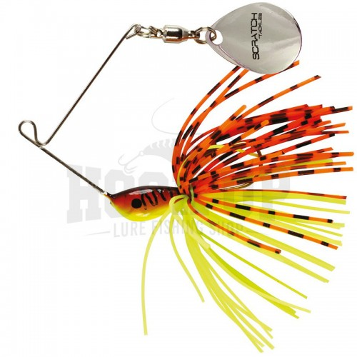 Scratch Tackle Micro Spinner Altera Nano 3.5g Rouge Fire Tiger (RFT)