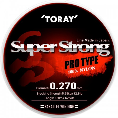 Toray Nylon Super Strong 150m Transparent