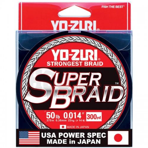 Yo-Zuri Tresse SUPERBRAID 8x Argent Main