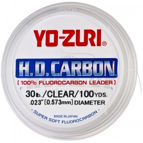 Yo-Zuri Fluorocarbone HD CARBON Naturel Main