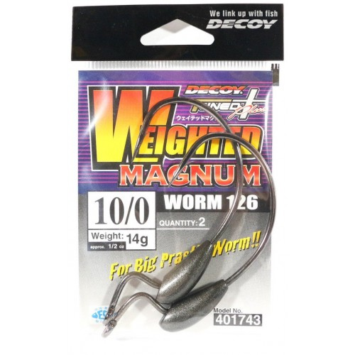 Decoy Worm 126 Weighted Magnum