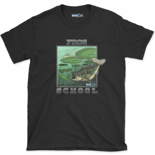 Hook'Up x MR Frog School T Shirt