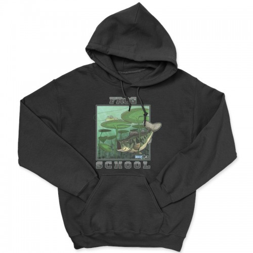 Hook'Up x MR Frog School Hoodie