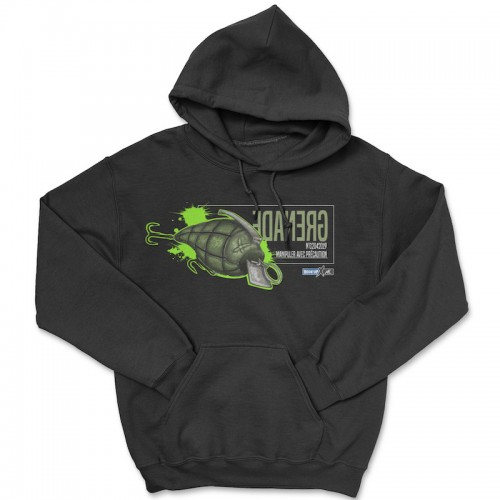 Hook'Up x MR Grenade Hoodie