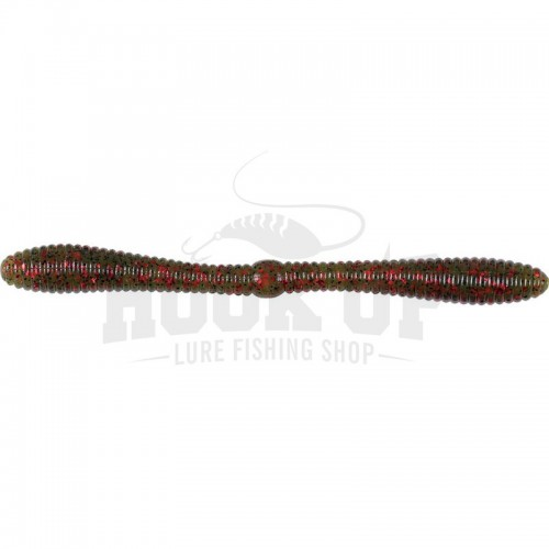 "Lunker City Spanky 5"" WATERMELON SEED RED FLAKE (144)"