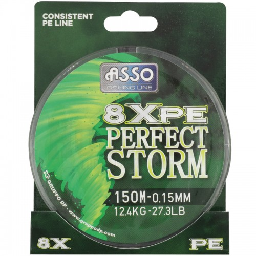 Asso Tresse Perfect Storm 8x PE Packaging