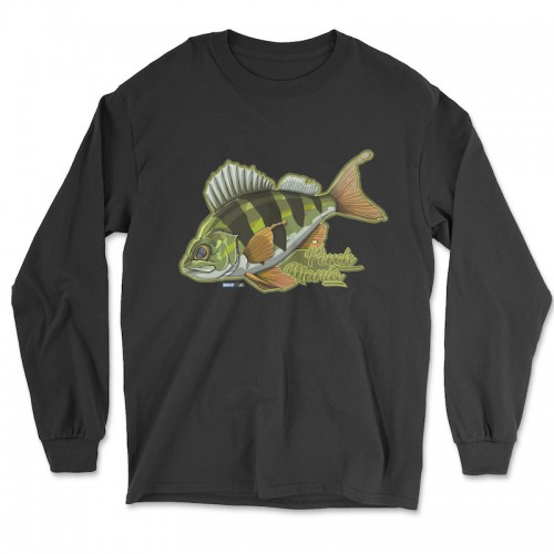 Hook'Up x MR Perch Mania T Shirt Manches Longues Black