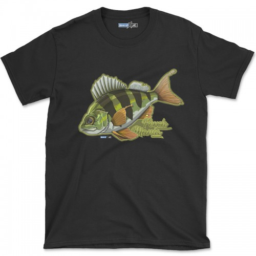 Hook'Up x MR Perch Mania T Shirt Black