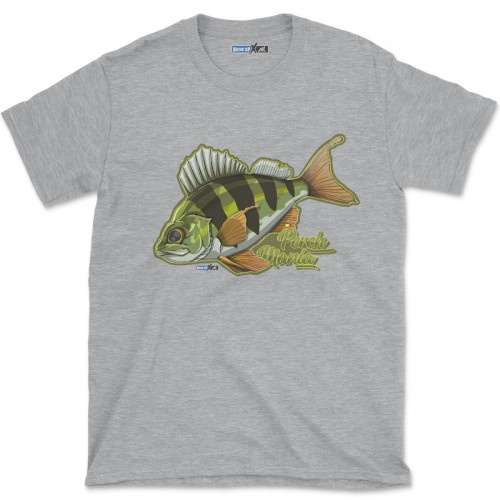 Hook'Up x MR Perch Mania T Shirt Sport Grey Heather