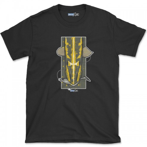 Hook'Up x MR Pike's Baits T Shirt Black