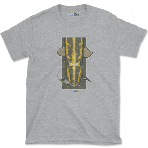 Hook'Up x MR Pike's Baits T Shirt Sport Grey Heather