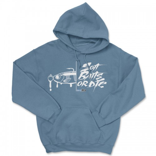 Hook'Up x MR Soft Baits or Die Hoodie
