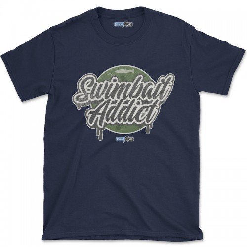 Hook'Up x MR Swimbait Addict T Shirt Navy
