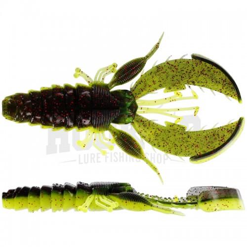 Westin CreCraw Creaturebait 10cm Black Chartreuse