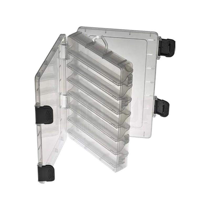 Plastilys Boite Reversible Transparente SF369 Open