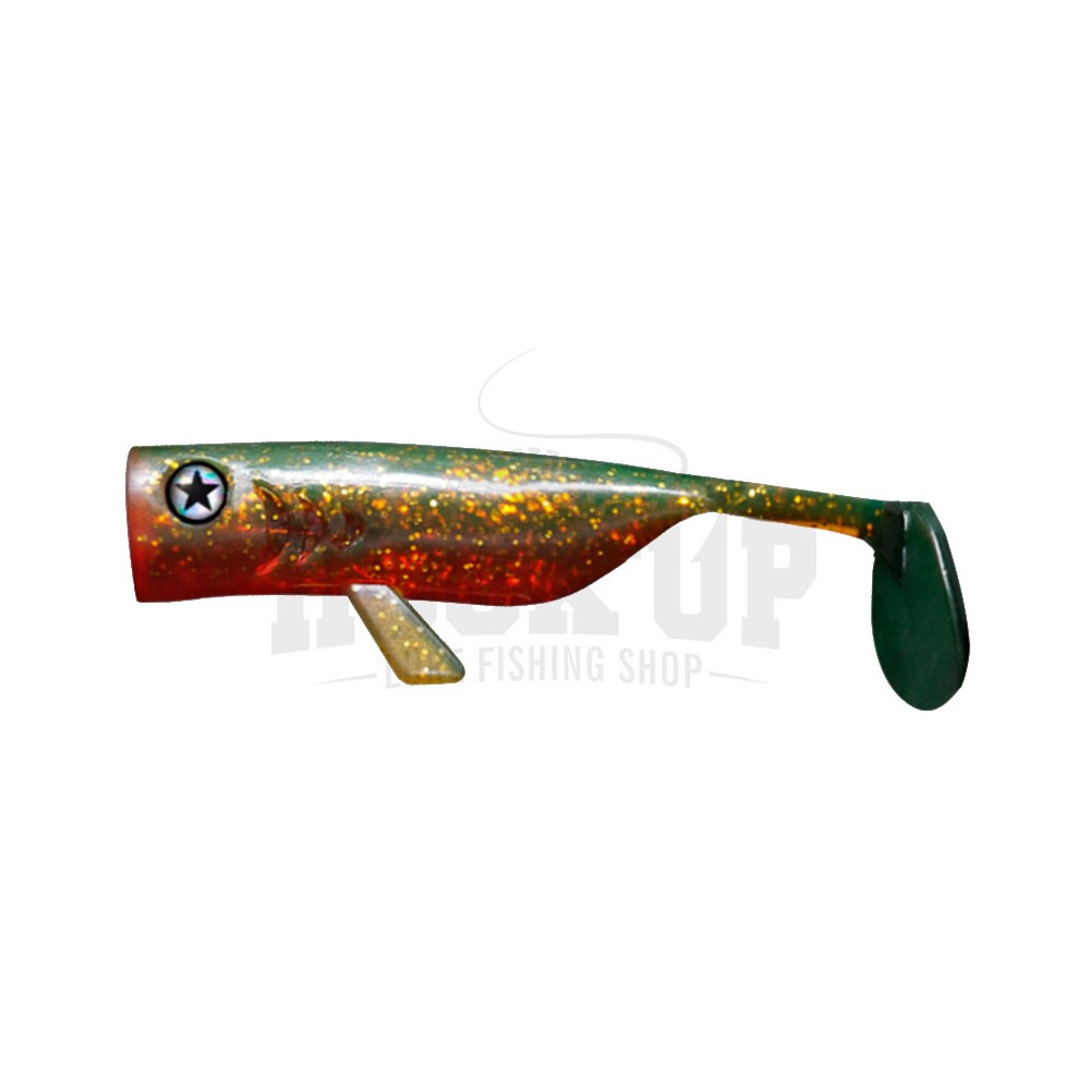 Pike Perch Zander Fishing Lures Ideal for jig heads LMAB Drunk Bait 8cm